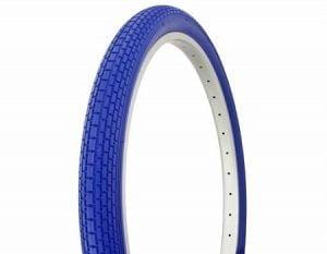 Blue Cruiser Bike Tires