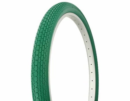 Green Cruiser Bike Tires