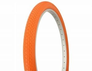 Orange Cruiser Bike Tires