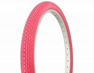 pink cruiser bike tires