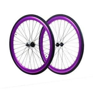 Purple Fixie Wheels