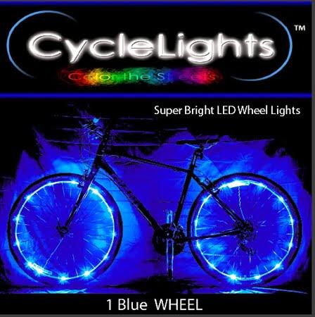 Blue Wheel lights