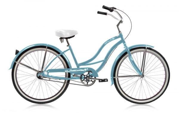 Baby Blue Women's Cruiser Bike