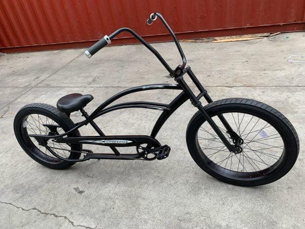 Black Chopper Bicycle