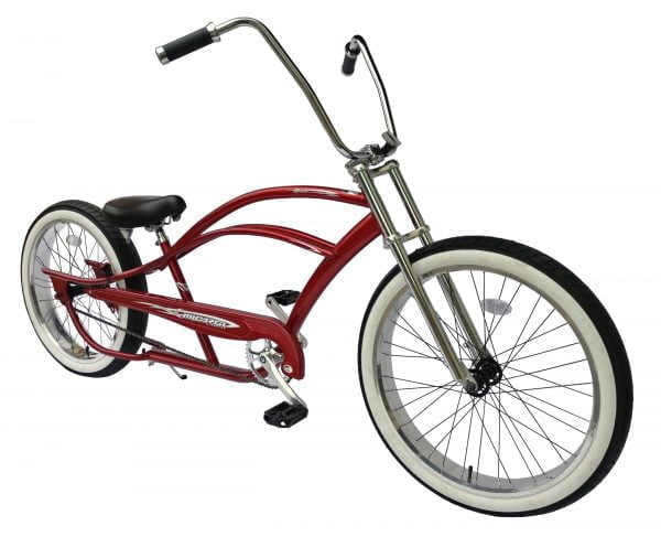 Red Chopper Bicycle