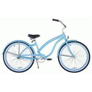 Baby Blue Cruiser Bike
