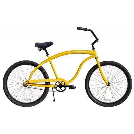Yellow Cruiser Bike