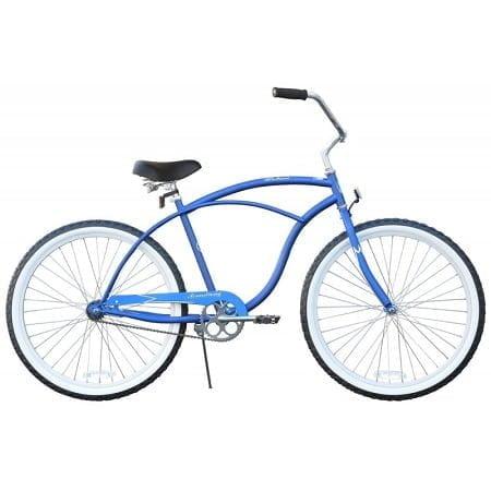 Matte Blue Cruiser Bike