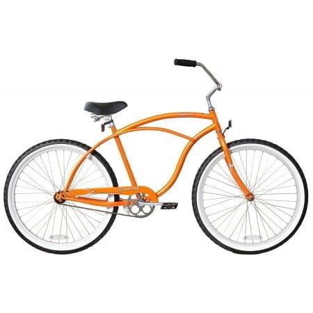 Orange Cruiser Bike