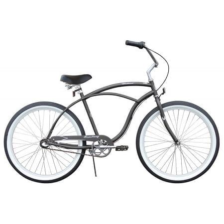 Matte Grey Cruiser Bike