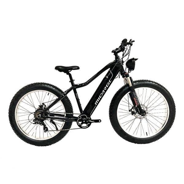 Black Electric Bicycle