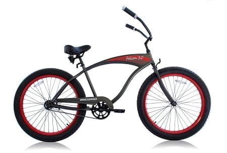 Matte Dark Grey Cruiser Bike