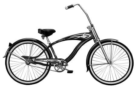 Black Crusier Bike