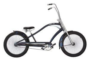 Dodger Blue Chopper Cruiser Bike