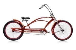 Red Chopper Cruiser Bike