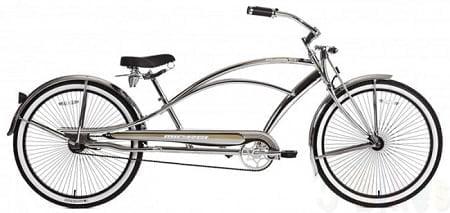 Chrome Chopper Cruiser Bike