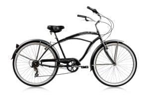 Black Cruiser Bike
