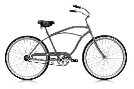 Grey Cruiser Bike