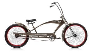 Black Chopper Cruiser Bike