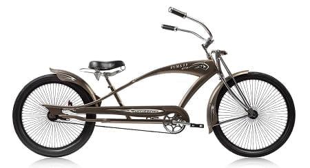 Matte Grey Chopper Cruiser Bike