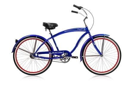Blue Cruiser Bike