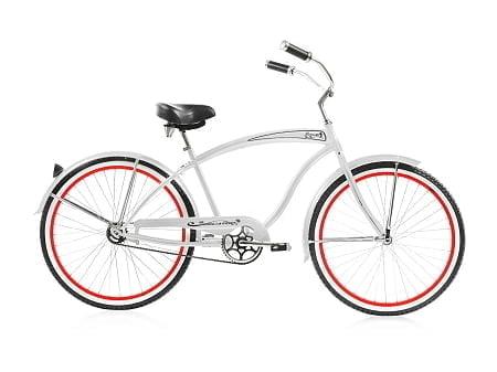 White Cruiser Bike