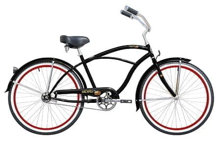 Matt Black Cruiser Bike