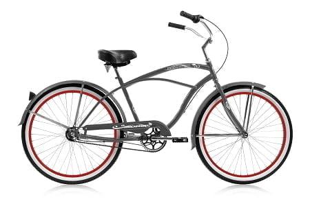 cruiser bike grey