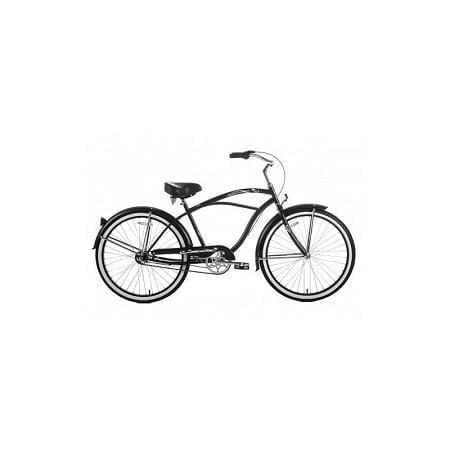 matte black cruiser bike