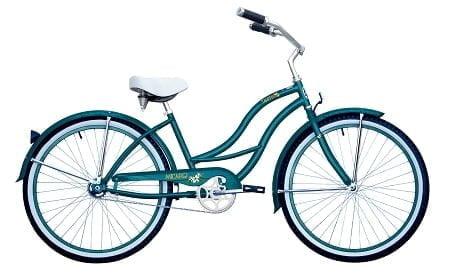 turquoise cruiser bike