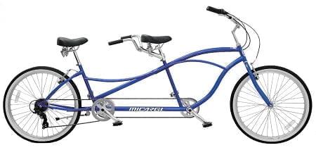 Blue Tandem bike