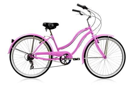 Pink Cruiser Bike