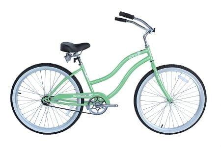 Mint Green Crusier Bike