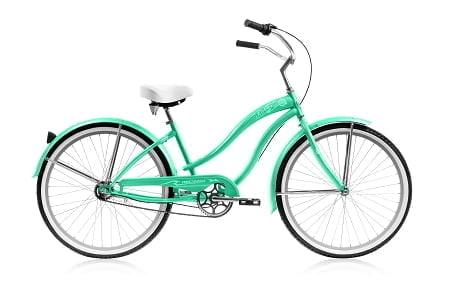 Mint Green Cruiser Bike