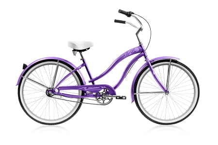 Purple Cruiser Bike