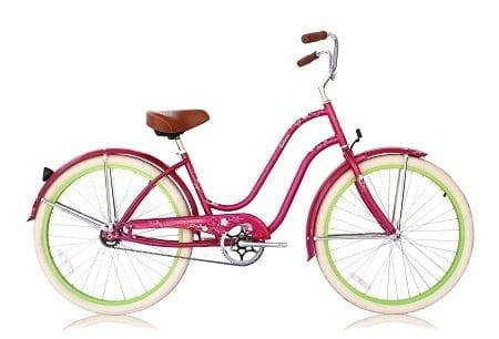 Hot Pink Cruiser Bike