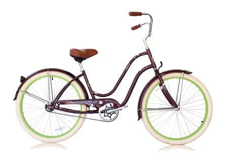 Violet Cruiser Bike