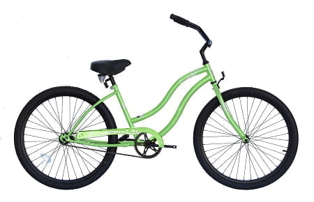 Pearl Green Cruiser Bike