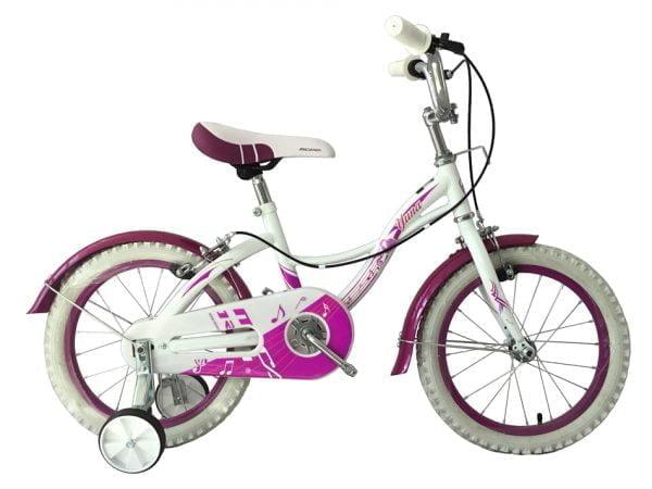 White Kids Bike