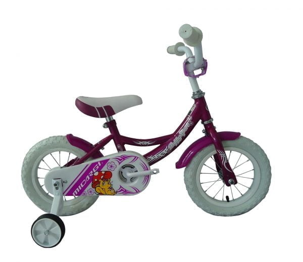 Purple Kids Bike