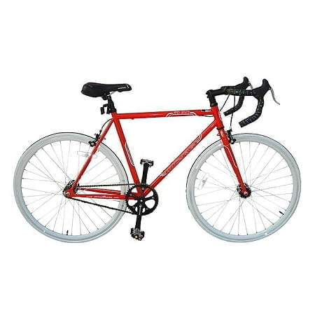 Red Fixie Bike