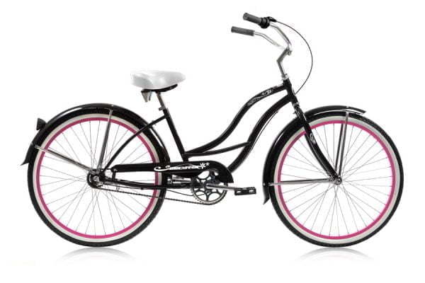 Black Women's Cruiser Bike
