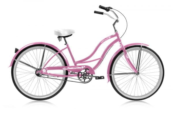 Pink Women's Cruiser Bike