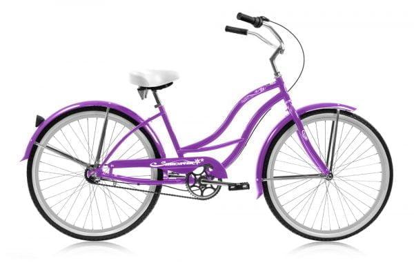 Purple Women's Cruiser Bike