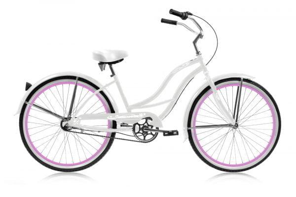 White Women's Cruiser Bike