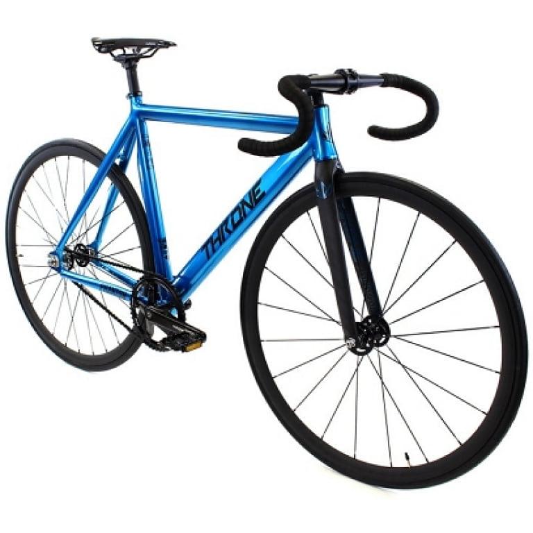 Blue Throne Track Bike