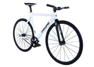 White Throne Track Bike