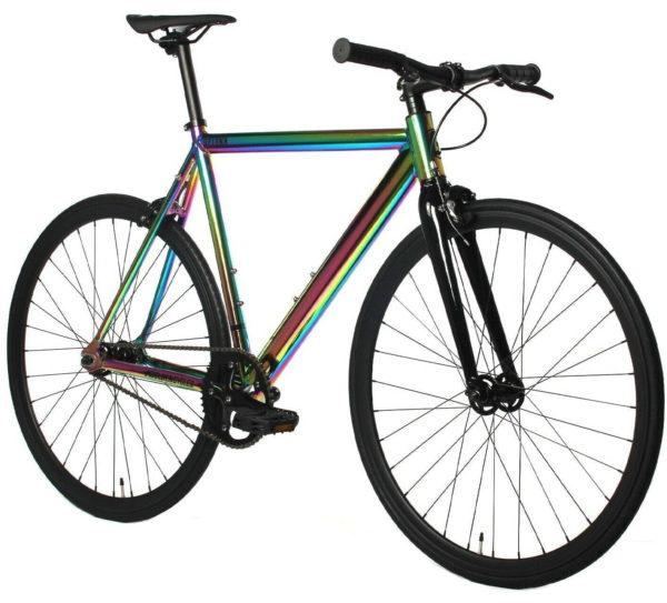 Neo Chrome Fixed Gear Bike