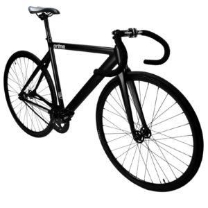 Black Matte track bike