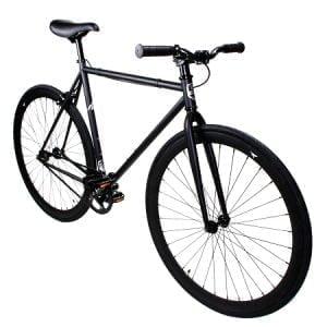 Matte Black ZF Fixie Bike